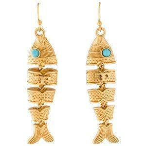 Tory Burch • Delicate Fish Earrings